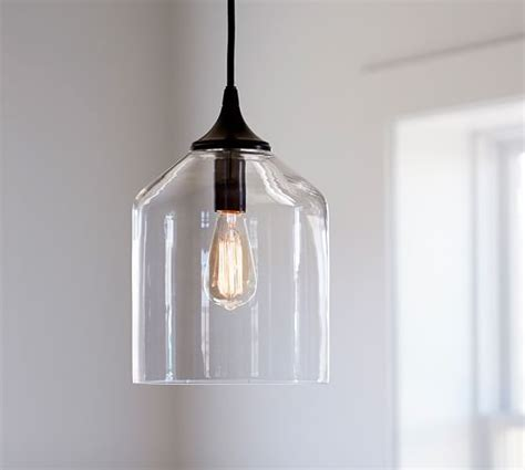 City Glass Pendant Pottery Barn Glass Pendants Lighting