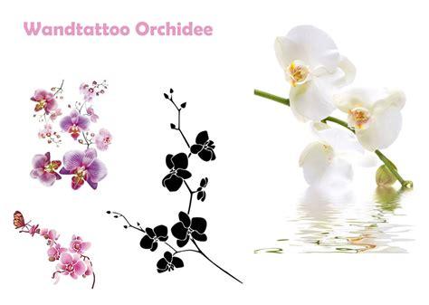 orchidee schlafzimmer wandtattoo orchidee lila wei 223
