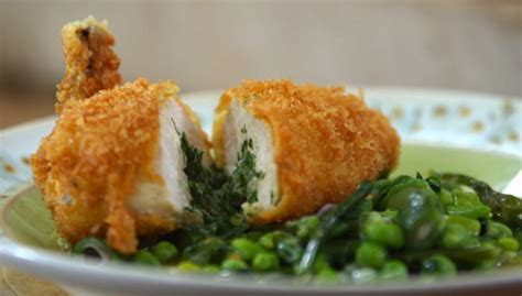 Martin Recipes Home Comforts by Martin Classic Chicken Kiev With Vegetables
