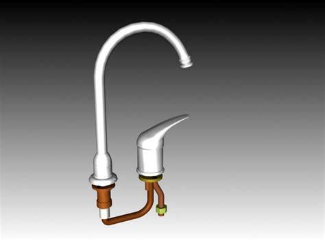 water ridge kitchen faucet parts water ridge kitchen faucet 3d model 3dsmax 3ds autocad