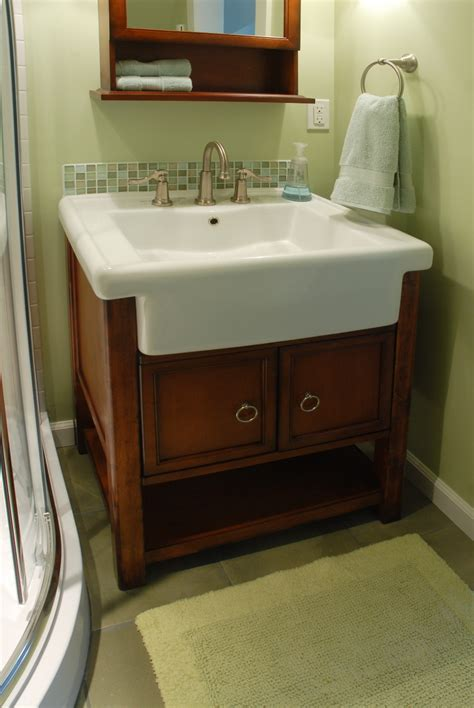 bathroom farm sink vanity farm house bathroom sink vanity fort collins remodeling