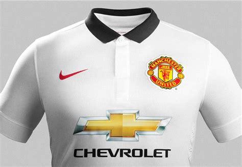 Polo Shirttshirtkaos Kerah Adidas Manchester United manchester united rilis jersey tandang musim 2014 15