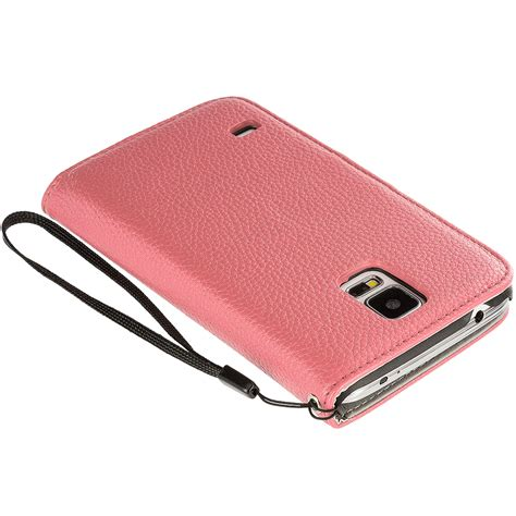 Samsung Galaxy S5 Wallet Leather Flip Cover Casing Dompet Kulit 2 for samsung galaxy s5 leather wallet leather pouch cover flip card holder