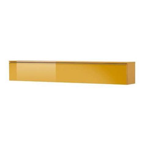 besta burs yellow best 197 burs wall shelf high gloss yellow 70265148