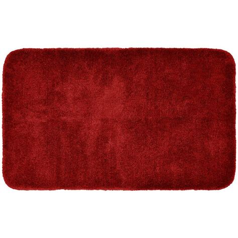 bathroom throw rugs garland rug finest luxury chili pepper red 30 in x 50 in