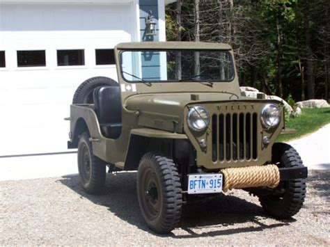 1957 Willys Jeep Tom Mcafee