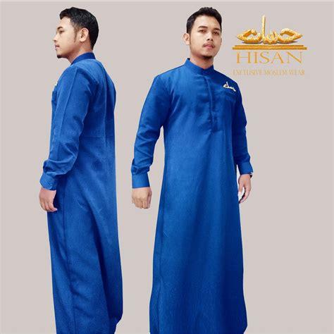 Jaket Jubah Pria jubah pria hisan mode slimfit elevenia