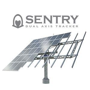 sentry dual axis solar tracker