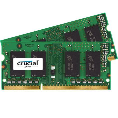 16gb ram upgrade crucial 16gb ddr3 1866 mhz sodimm memory kit ct2k102464bf186d