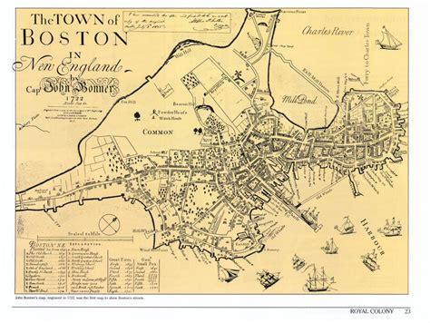 boston map 1776 historical atlas of massachusetts