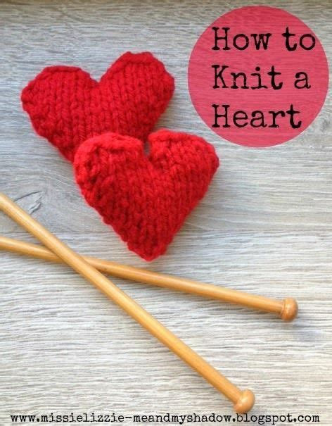 knit heart pattern easy 17 best images about knitting on pinterest stitches