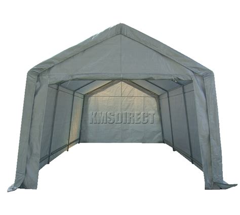 car gazebo foxhunter heavy duty 3m x 6m car port canopy cover