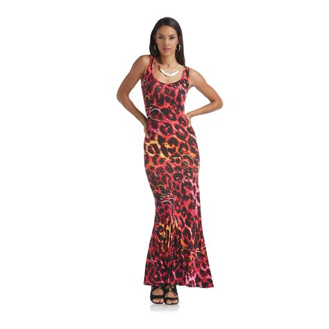 Maxi Niki nicki minaj maxi dress leopard l