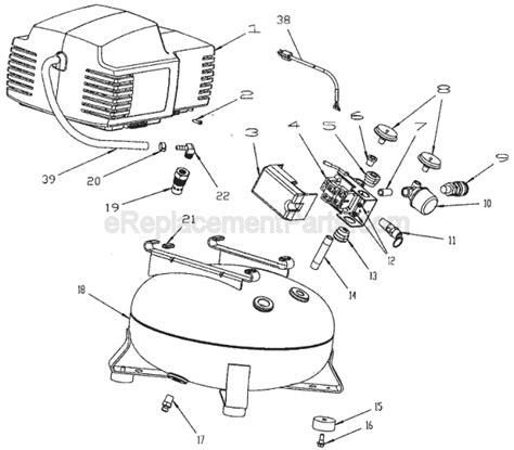porter cable pancake air compressor cf1400 ereplacementparts