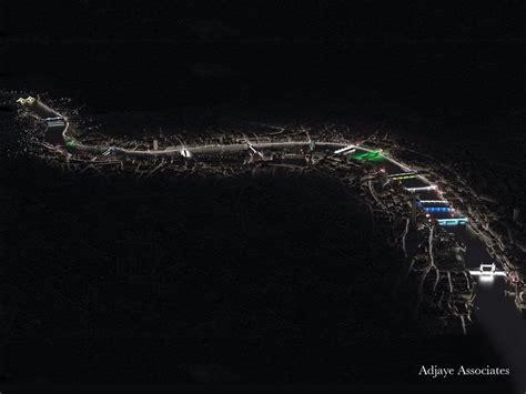 Illuminated River London bridges by Adjaye Associates 1 e architect