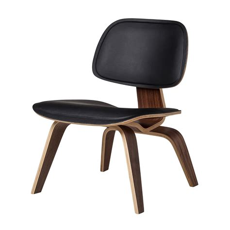 Eames Wardrobe by Eames Style Molded Plywood Lounge Chair Black Leather The Khazana Soapp Culture
