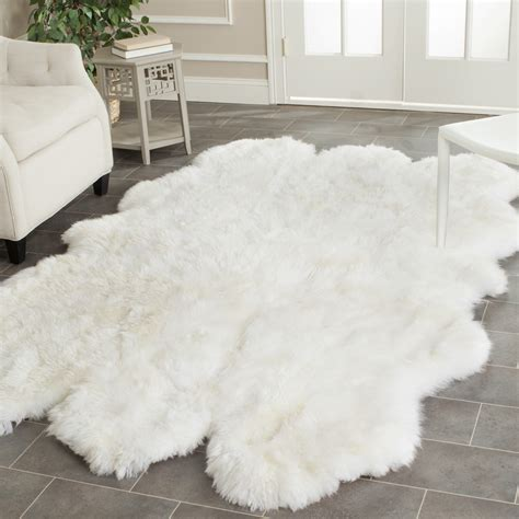 white area rug ikea fur rug ikea rugs ideas