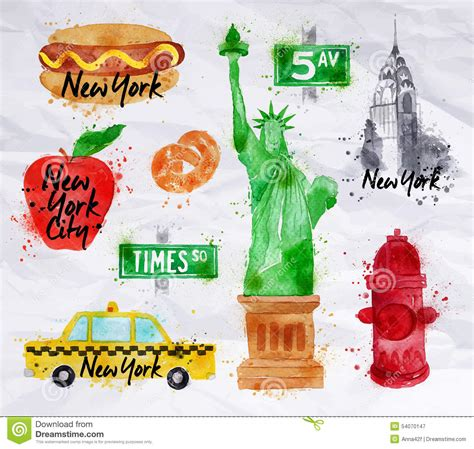 the statue of liberty symbol stock vector 169 york symbols crumled paper stock vector illustration