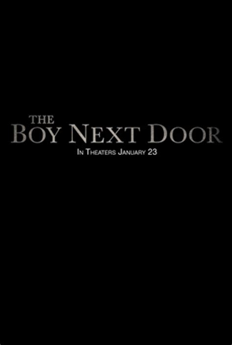 Trailer For The Boy Next Door by The Boy Next Door 2015 Trailer Release Date Cast