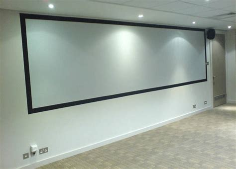 create your own high quality projection screen with goo systems paint