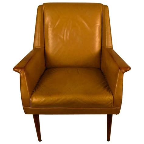 gold chairs for sale gold finish leather mid century lounge chair for sale at