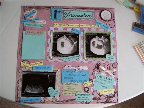 Handmade Baby Book Ideas - 12 best images about baby scrapbook ideas on