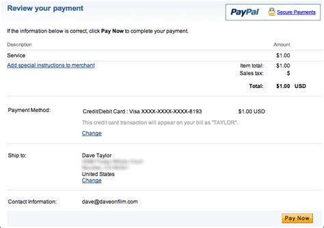 Sell My Gift Card Online For Paypal - can i accept credit cards with my paypal account ask dave taylor
