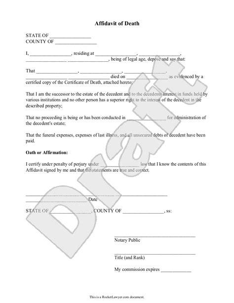 affidavit template florida sle affidavit of form template websites worth