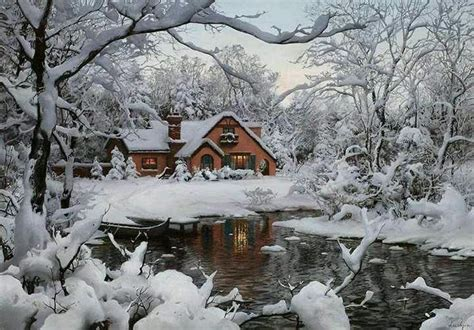 winter cottage winter cottage beautiful places to live