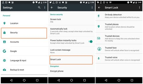 pattern unlock grayed out how to automatically unlock your android phone using smart