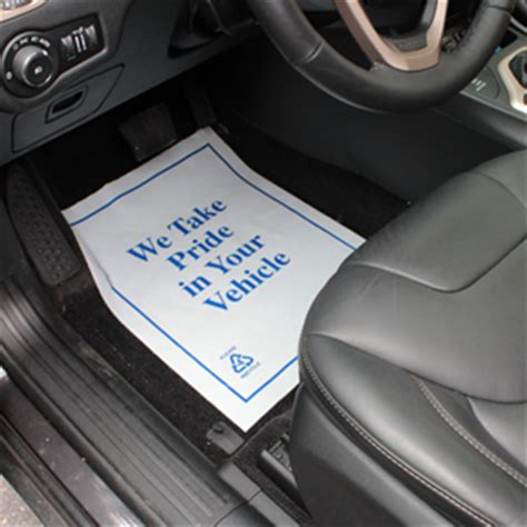 Plastic Car Mat by Plastic Car Floor Mats Are Disposable Plastic Car Mats By