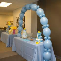 Baby shower balloons rubber ducky baby shower and balloon columns