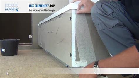 siphon badewanne ausbauen elements montage wannenverkleidung top tr f 252 r