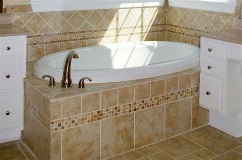 tiling around bathtub tile tub surround ideas raleigh custom home trends
