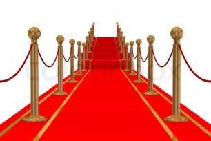 rote teppiche roter teppich pfad auf einer treppe stock foto