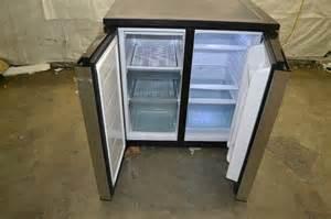 3 door glass refrigerator igloo fr551 5 5 cubic feet side by side 2 door