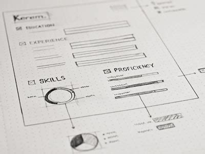 Sketches And Wireframes by Inspiring Ui Wireframe Sketches Web Design Ledger