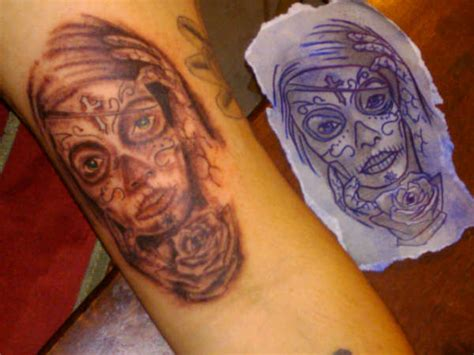tattoo nightmares dia de los muertos dia de los pictures to pin on pinterest tattooskid