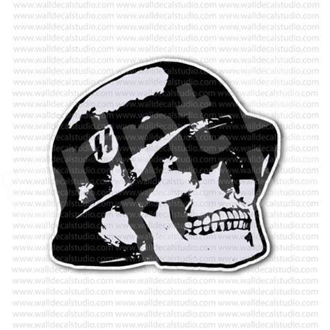 Ss Aufkleber Helm by From 4 00 Buy Skull German Soldier Helmet Sticker At
