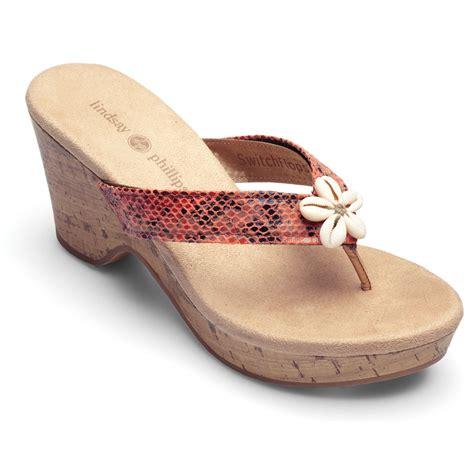 lindsay phillips sandals lindsay phillips brenna switchflops platform wedge sandals