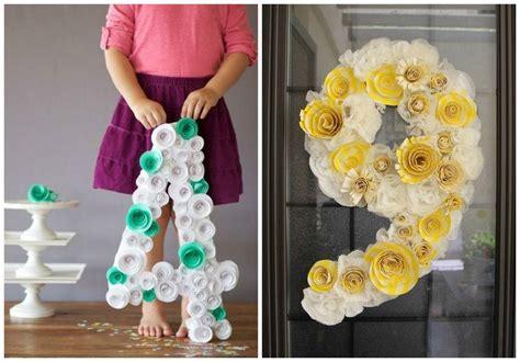 decorar numeros con papel crepe numeros gigantes para decorar en fechas especiales