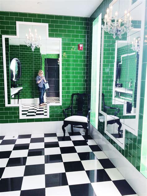 kelly green bathroom pss travels a stylish los angeles getaway weekend