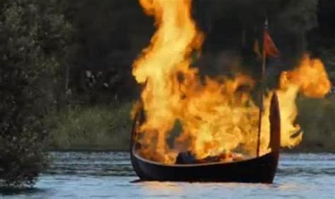 fire boat funeral game of thrones gone but not forgotten mount rantmore