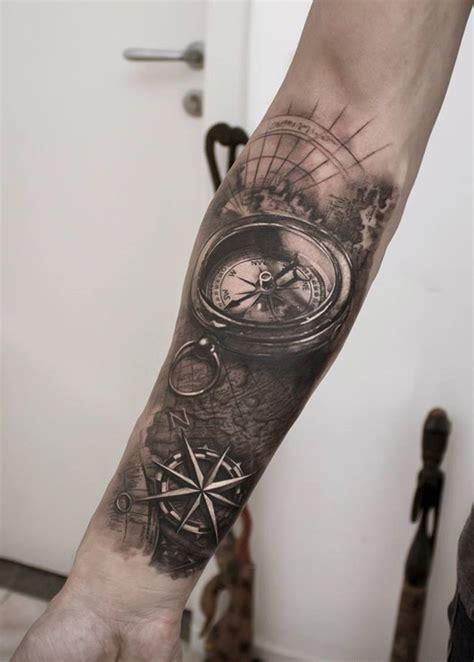 tattoo eye sleeve 70 eye catching sleeve tattoos compass handsome and tattoo