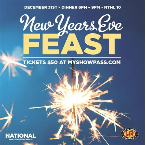 new year dinner calgary 30 places to celebrate new year s 2017 in calgary