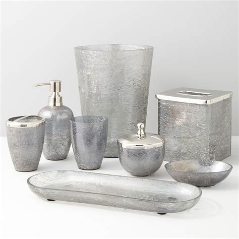gray bathroom accessories paradigm trends lava grey bath accessories bloomingdale s