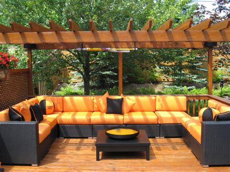 patio furniture deep seating contemporary patio