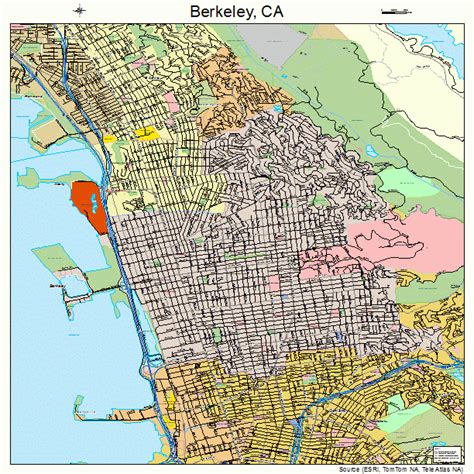 berkeley map berkeley california map 0606000