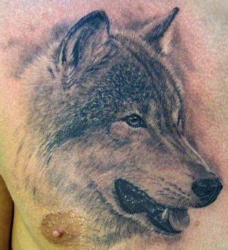 tattoo real animal realistic chest wolf tattoo design of tattoosdesign of