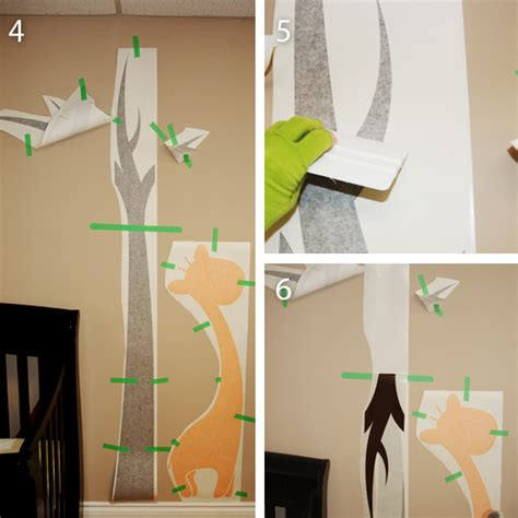 how to make wall stickers large tree wall decal application